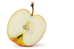 The cut apple Royalty Free Stock Images