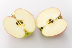 Cut apple Royalty Free Stock Photo