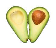 Cut avocado Royalty Free Stock Photos