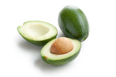 Cut avocado Royalty Free Stock Image