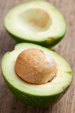 Cut avocado Royalty Free Stock Photography