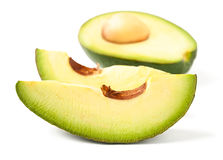 Cut avocado Royalty Free Stock Photos