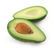 Cut avocado Royalty Free Stock Images