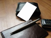 Cut-away in the middle of things Royalty Free Stock Photo