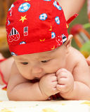 Cut baby boy Stock Photography