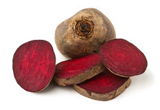 Cut beet Stock Photo