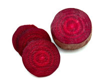 Cut beet Royalty Free Stock Images