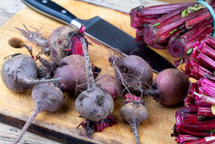 Cut Beetroots Royalty Free Stock Image