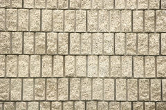 Cut Block Wall Royalty Free Stock Photography