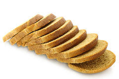 Cut bread Stock Images