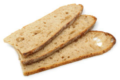 The cut bread Stock Photo