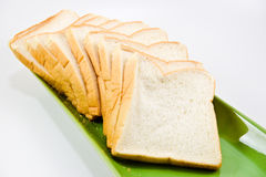 The cut bread Royalty Free Stock Images