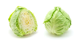 Cut cabbage Stock Photo