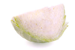 Cut cabbage Royalty Free Stock Photos