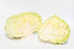 Cut cabbage Stock Image