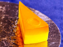 Cut cake soap Stock Photography