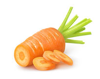 Cut carrot Royalty Free Stock Image