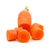 Cut carrot Royalty Free Stock Photos