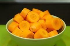 Cut carrots Stock Photos