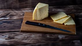 Cut the cheese royalty free stock images