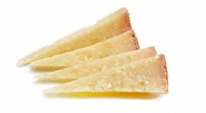 Cut cheeses Royalty Free Stock Image