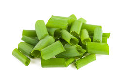 Cut chives Stock Photo