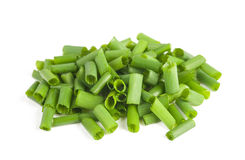 Cut chives Stock Image