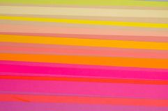 Cut Colored Paper Striped Pattern royalty free stock image