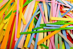 Cut coloured paper Royalty Free Stock Photo