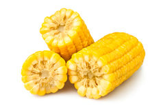 Cut corn Stock Image