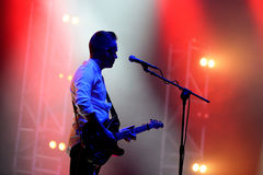 We Cut Corners (band) live performance at Bime Festival Royalty Free Stock Photos