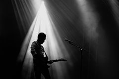 We Cut Corners (band) live performance at Bime Festival Royalty Free Stock Images
