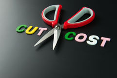 Cut cost Stock Photography