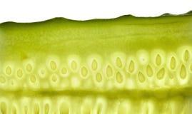 Cut cucumber Stock Photos