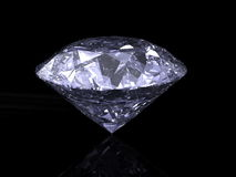 Cut diamond Royalty Free Stock Image