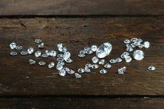 Cut diamonds Stock Photography