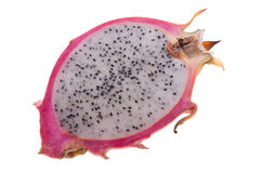 Cut dragon fruit Royalty Free Stock Images