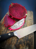 Cut dragon fruit 2 Stock Photo