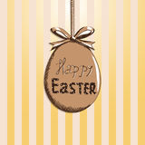 Cut Easter background sketch Stock Image