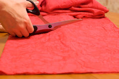 Cut fabric Royalty Free Stock Images