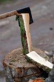 Cut firewood Royalty Free Stock Photos