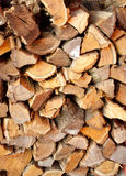 Cut firewood Royalty Free Stock Photos