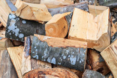 Cut firewood Stock Images