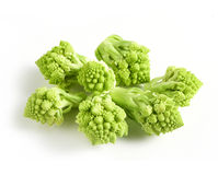 Cut florets of Romanesco broccoli Stock Photography