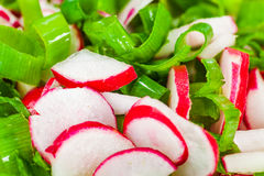 Cut food Stock Image