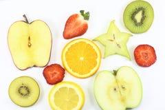 Cut fruit art Stock Images