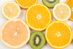 Cut fruits Royalty Free Stock Photo