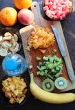 Cut fruits Stock Photo