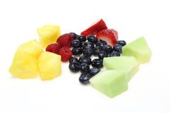 Cut fruits Royalty Free Stock Image