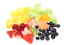 Cut fruits Stock Photography